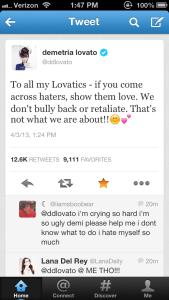 Demi Lovato Beauty 2
