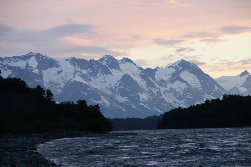 Tatshenshini River Sunset