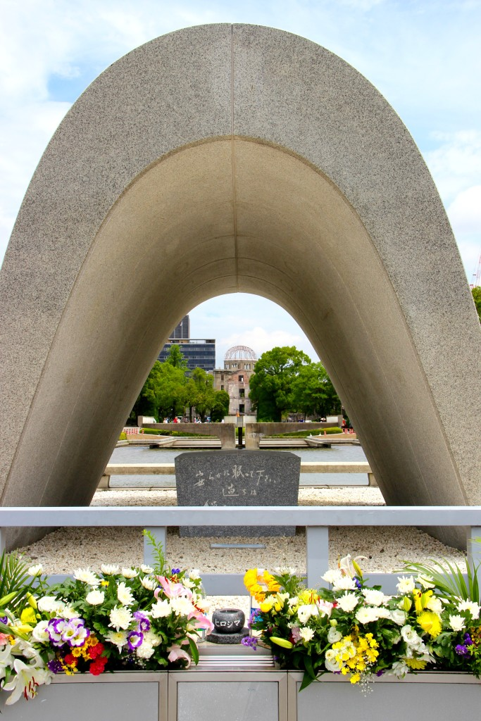 Hiroshima Memorial Monument & Peace Flame